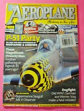 AEROPLANE--HISTORY IN THE AIR MAGAZINE DEC/2007  BRITISH PUBLISHER..P-51 PARTY