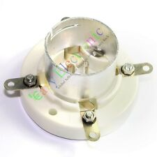 1pc 4Pin Ceramic vacuum Tube Socket valve base for FU5 845 211 805 U4J audio amp
