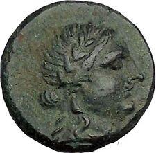ALABANDA in CARIA 189BC Apollo Lyre Authentic Original Ancient Greek Coin i52697