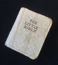 Vintage 60's MINIATURE The Little Bible Book Christian Jesus Scripture God SMALL