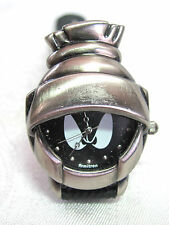 Vintage Marvin the Martian Armitron Looney Tunes Wrist Watch w/ Original Tin