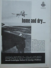 3/1967 PUB MARTIN BAKER EJECTION SEAT US-NAVY F-4 PHANTOM ORIGINAL AD