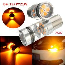 2x Car BAU15S 150° 7507 PY21W 1700LM Led Bulb Turn Signal Corner Light Lamp