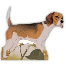Beagle dog wooden pin brooch jewelry Pipsqueak Productions NEW in Package