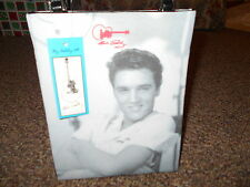 Ashley M. Brand  Elvis Presley Purse/Tote Bag Black with Photo NWTS