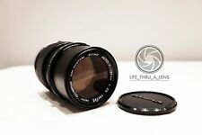 Olympus Zuiko 135mm f/3.5 Telephoto Portrait Lens for OM fit with caps