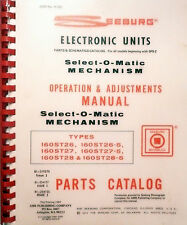 SEEBURG OPS & ADUSTMENTS FOR SELECT-O-MATIC MECHANISM  - An Arm Publication