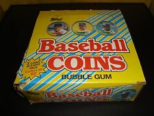 1989 Topps Baseball Coins Unopened Box 36 Packs 3 Per Mint Condition Cal Ripken