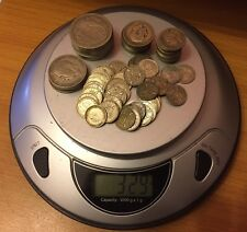 BULK LOT- 329 grams OF UK PRE 1947 0.500 SILVER COINS - HALF CROWN TO 3 PENCE