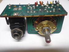 TOSHIBA SA-850 RECEIVER SPEAKER SWITCH AND HEAD PHONE JACK ASSY USED PARTS