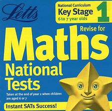 MATHS NATIONAL TESTS KEY STAGE 1 AGE 6 TO 7 LETTS - EDUCATION WINDOWS 95 98 XP