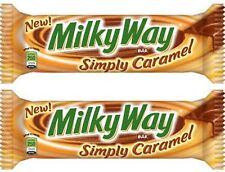 2 x Milky Way Simply Caramel American Chocolate from Candy Junction