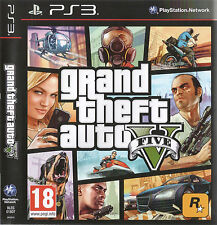 GRAND THEFT AUTO 5 GTA 5 GTA V GTA5 GTAV PS3 Game (BRAND NEW SEALED)