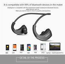 Genuine DACOM Armor Bluetooth 4.1 Earphone Stereo Headset Sport headphones Black