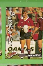 1996 RUGBY UNION  CARD #36 TIM HORAN, REDS