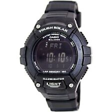 Casio WS220-1B Mens Solar Powered Led Light Sports Watch - LAP MEMORY 120