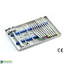 Osteotome Set Sinus Lift Instruments Dental Implant Surgery LAb New CE