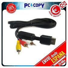 Cable AV TV para PlayStation PS3 PS2 PS1 PSX 3RCA Audio Video Compuesto 2474R  P