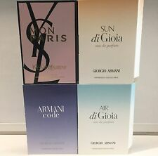 Armani SUN + AIR di Gioia Code YSL Mon Paris 1,2 ml MiniSpray Parfum Proben Set