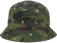 New Licensed Official Headware Camo Trout Bucket Hat Size S/M MSP $32.00____B76