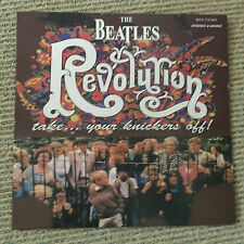 The Beatles - Revolution Take... Your Knickers Off - Rare Israel yellow vinyl LP
