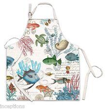 Michel Design Works Cotton Apron Sea Life - NEW