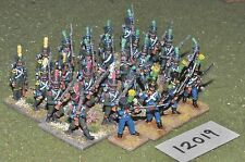 25mm napoleonic french infantry 28 figures (12019)
