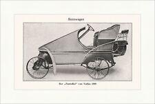 Der Pantoffel von Valllee 1899 Rennwagen Oldtimer Speichenrad Sport Lexikon 005