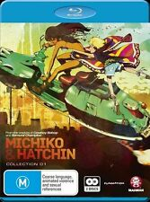 Michiko & Hatchin Collection 1 Blu-ray, 2013, 2-Disc Set NEW SEALED, FREE POST