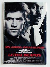 Lethal Weapon FRIDGE MAGNET (2 x 3 inches) movie poster mel gibson danny glover
