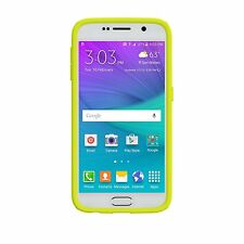 Speck CandyShell Case for Samsung Galaxy S6 Charcoal Grey/Anti-Freeze Yellow