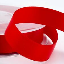 Double Sided Satin Ribbon Cut Lengths 3mm 6mm 10mm 16mm 25mm 38mm