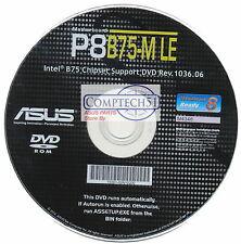 ASUS GENUINE MOTHERBOARD SUPPORT DISK  P8B75-M LE REV1036.06 M4348