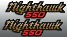 HONDA 1983 '83 CB550 CB 550 NIGHTHAWK SIDE COVER REPRODUCTION DECALS GRAPHICS
