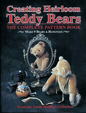 CREATING HEIRLOOM TEDDY BEARS THE COMPLETE PATTERN BOOK Make 9 Bears & Hangtags