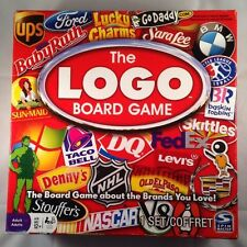 The Logo Board Game the game about the Brands you love ages 12+ Spin Master