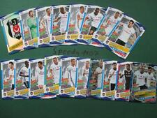 Topps Champions League 2016 17 all 18 Besiktas Team Cards Logo Goal King