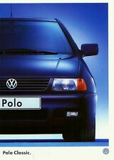 Volkswagen Vw  Polo Classic  1997 catalogue brochure