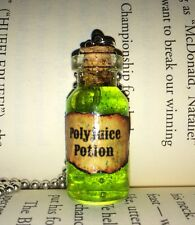 Polyjuice Potion Bottle Necklace For Fan Of Harry Potter Gift Cosplay Geekery