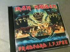 Iron Maiden Double CD Bradford England The Number Of The Beast Tour 1982
