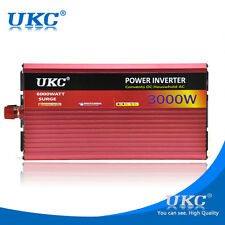 Power Inverter 3000 Watt 48V to 220V Comes with Battery Cable full protection