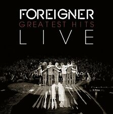 Foreigner-Greatest Hits Live CD NUOVO