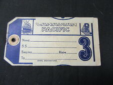 Canadian Pacific Luggage Tag         j2a
