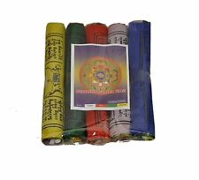Tibetan Buddhist Prayer Flags  - Pack of 40