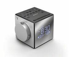 Sony ICF-C1PJ Time Projection Alarm Clock Radio Nature Sounds USB Port