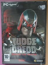 JUDGE DREDD : DREDD vs DEATH PC CD-ROM GAME brand new & sealed RARE UK ORIGINAL