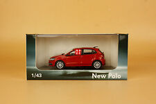 1/43 2015 China Volkswagen new Polo die cast model red color