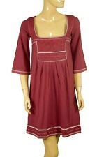67592 NEW Mais il est Ou le Soleil Embroidered Cotton Dress Extra Small XS