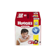 New Huggies Snug and Dry Size 4 Baby Disposable Diapers - 112 Count