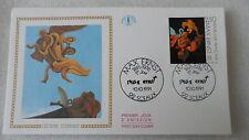 FDC Enveloppe Premier Jour - CEF - Max Ernst - 10/10/1991 - Sceaux